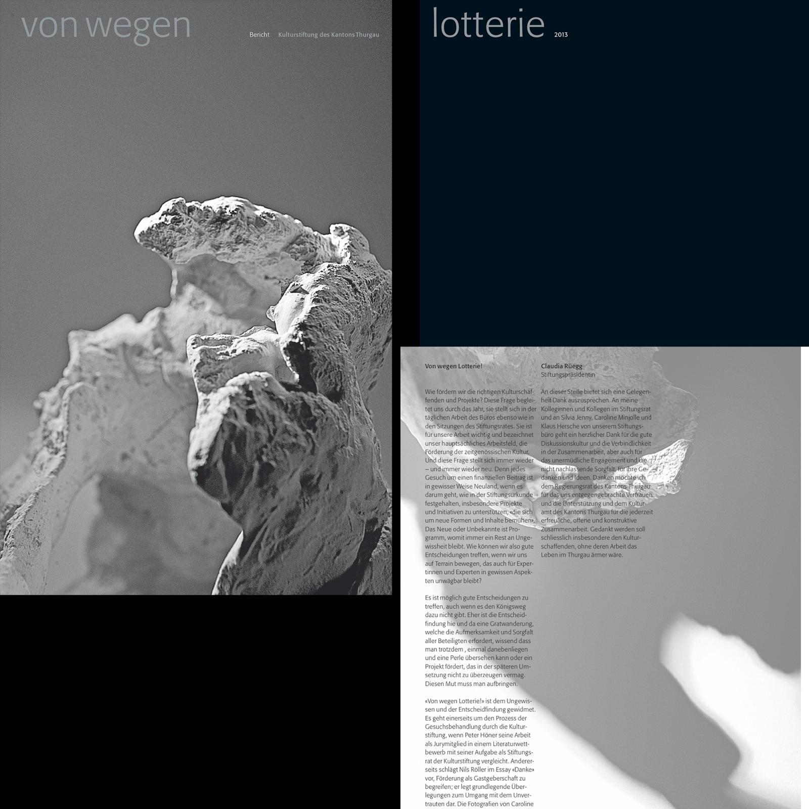 Kulturstiftung des Kantons Thurgau, Bericht 2013