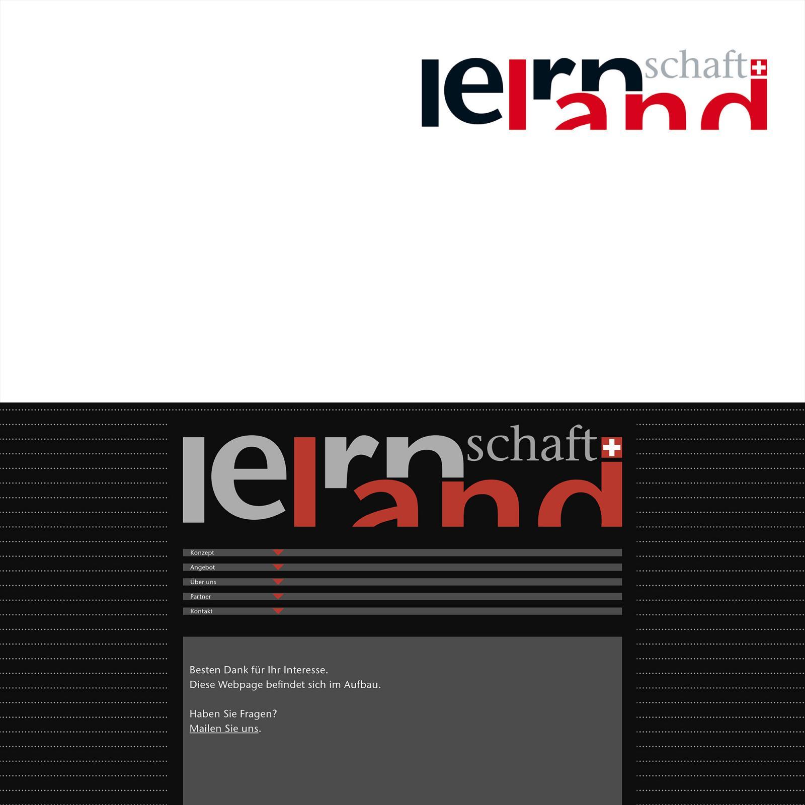 Gestaltung Logo und Website Lernlandschaft
